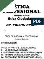 ÉTICA  PROFESIONAL. Ciudadana.ppt  Clase No. 1