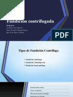 FUNDACION CENTRIFUGA MANUFACTURA I