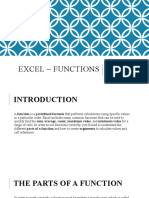 Excel Lesson 10