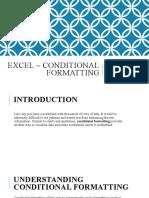 Excel Lesson 12
