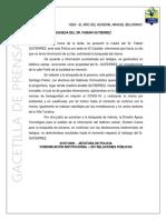 El Calafate búsqueda Fabián Gutiérrez