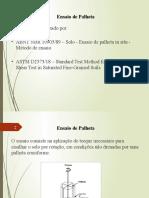 Ensaio VANE TEST - Aplicações e limitaçoes