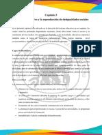 SISTEMA EDUCATIVO Y LA REPRODUCCIÓN DE DESIGUALDADES