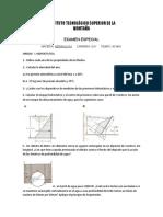 examen hidraulica 2