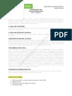 Estructura Informe Final Estudio de Caso