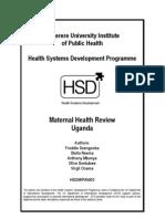 Maternal Health Review 04-03_uganda