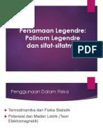 Summary Persamaan Legendre