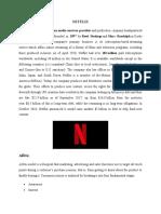 AIDA model for Netflix