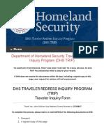 DHS | TRIP Penalty of Perjury 1