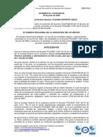 Acuerdo Aclaracion Acuerdo CSJATA20-80 -Horario y Turnos de Trabajo-