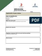 P0 Hoja de Derivacion PLIS - Plan local de integracion social
