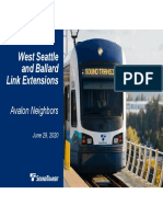 Avalon Neighbors -Sound Transit