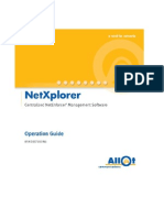NX Operation Guide R4