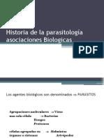 clase0002 historia de la parasitologia asociaciones biologicas