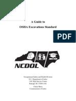 IG 14 - OSHA Excavations Standard