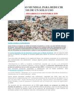 Compromiso Mundial Para REDUCIR Los Plasticos de Manera Sostenible 2030