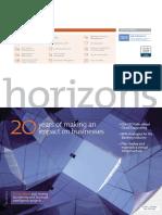 GBM Horizons Newsletter 2010