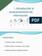 introduccion al almacenamiento de la informacion bbdd