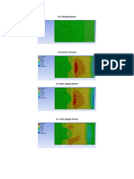 displacement of different points results