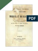 De l'État Présent Et de l'Avenir Des Principautés de Moldavie Et de Valachie -1839