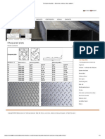 Chequered plate – diamond and tear drop pattern