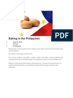 Baking in the Philippines