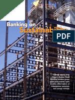 2007v07 banking on sustainability