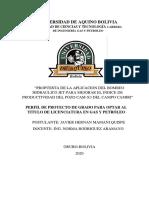 PROYECTO DEL BOMBEO HIDRAULICO  TIPO JET.pdf