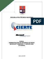Curso Admin is Trac Ion Entorno Redes