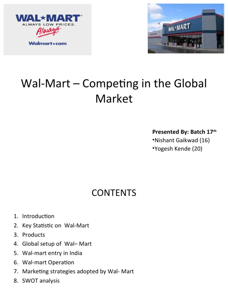 essays on wal-mart effect