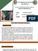 ESTUDIO DE LA VELOCIDAD-BURGA