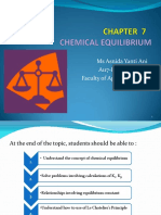 CHM131_CHAPTER 7_ CHEMICAL EQUILIBRIUM