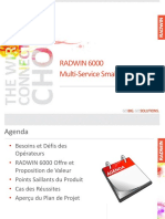 RADWIN 6000 Multi-Service Small Cell solution Francais
