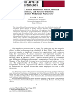Distributive justice, procedural justice, affective commitment, and turnover intention a mediation–moderation framework.pdf