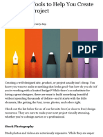 $0 Design Tools to Help You Create Your Next Project