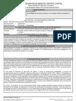FICHAS EBI-D SED PLAN DE DESARROLLO 2020-2024