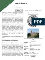 Corte Internacional de Justicia , la enciclopedia libre