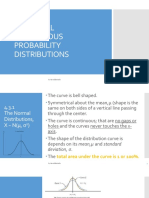 Chapter 4 Continuous Random Variables and Probability Distribution (Part 2)
