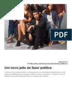 Um novo jeito de fazer política_Fabíola Perez