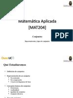 MAT204 Conjuntos Parte I