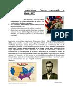 Guerra civil americana APUNTES