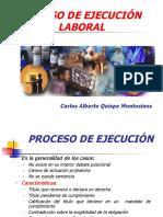 PROCESO DE EJECUCION LABORAL - Carlos Alberto Quispe Montesinos.pps