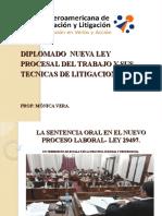 NLPT Y TECNICAS DE LITIGACION ORAL - Monica Vera.pps