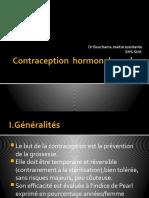 Contraception  hormonale orale