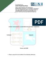 etapas auditoria Fiscal