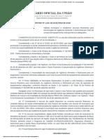 PORTARIA Nº 1.210, DE 18 DE MAIO DE 2020 - VAN