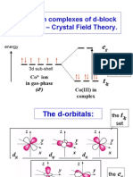 Chemistry Lecture Crystal Field Theory