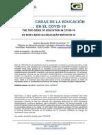 LAS DOS CARAS DE LA EDUCACIÓN EN EL COVID-19.pdf