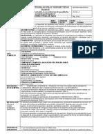 Estructura 2020 P1 GRADO 6 y 10 Español.