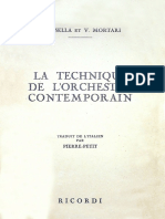 A. Casella, V. Mortari - La Technique de l'Orchestre Contemporain